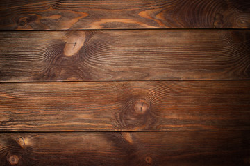 dark old grunge vintage wood panels used as background