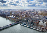 aerial view of Big Ben and London city, United Kingdom