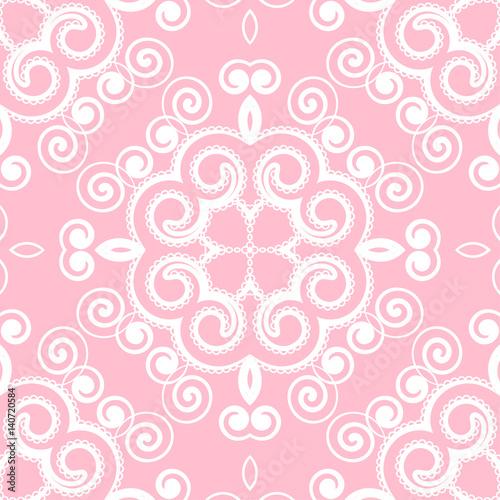 Swirly seamless pattern - 140720584