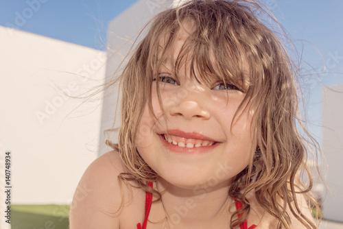Enfant au bord de la piscine poster sold at for Au bord de la piscine