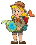 Scout girl theme image 3