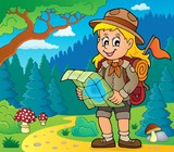 Scout girl theme image 4