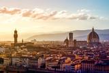 Widok na Florencję z placu Michelangelo