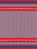 Striped Knitting Background