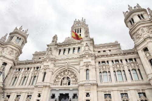 Cibeles Palace in Madrid, Spain