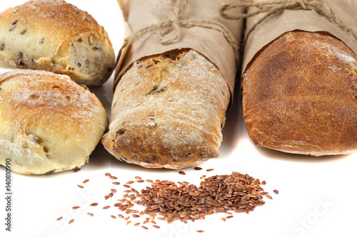 bread and linseed