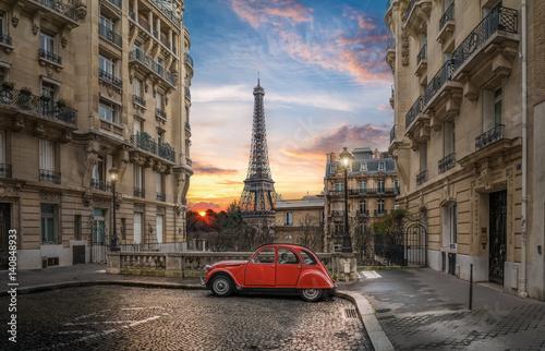 Plagát Avenue de Camoens in Paris