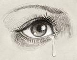 Eye and tear - 140870158