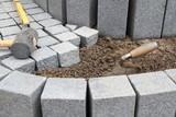 Treppenbau mit Granit - 140873568