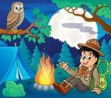 Scout boy theme image 6