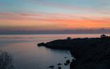 Sunrise scene at Cape Greco