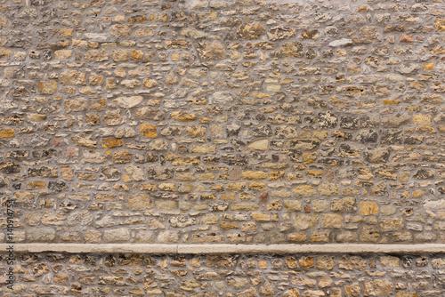 Foto op Canvas Baksteen muur Historisches Mauerwerk