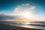 Urlaub am Meer/ Abendstimmung in St. Peter Ording an der Nordsee - 140931377