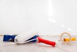 Handwerk und Beruf Maler, Materialien für eine Renovierung - 140934156