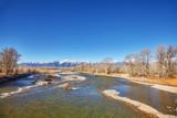 Snake River in Autumn, Grand Teton National Park, Wyoming, USA.