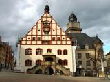 Rathaus/Spitzenmuseum in Plauen (Vogtland) Sachsen
