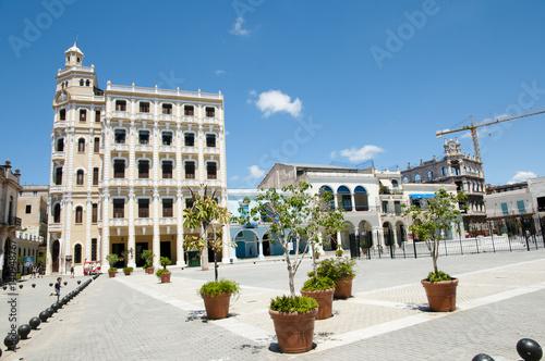 Poster Plaza Vieja - Old Havana - Cuba