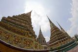 Temple spiers wat phra kaeo