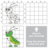 Copy the image using grid. Grasshopper.