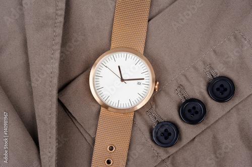 unisex fashion wristwatch Poster
