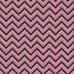 Seamless vector chevron pattern with pink and brown lines. Background for dress, manufacturing, wallpapers, prints, gift wrap and scrapbook.