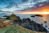 The lighthouse on Ynys Llanddwyn