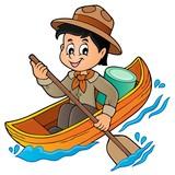 Water scout boy theme image 1