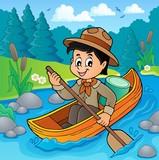 Water scout boy theme image 2