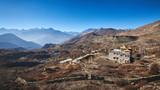 Tibetan Buddhist monastery in Himalayas near Muktinath, Nepal