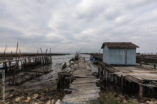 Porto da Carrasqueira mit guter Aussicht auf den Rio Sado