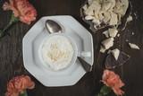 Weiße Trinkschokolade