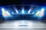 Fototapety Ice hockey stadium 3d rendering