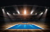 Arena koszykówki, renderowania 3d