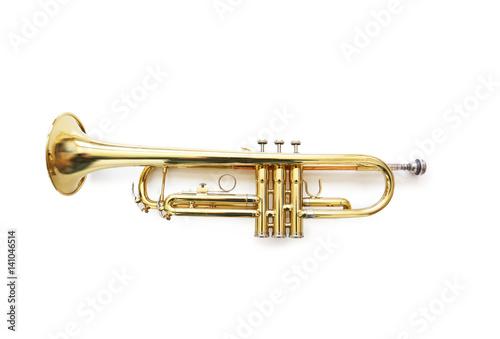 Brass Trumpet Poster