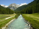 River. Rein in Taufers, Italy, Europe