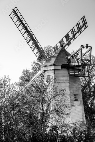 King's Mill or Vincent's Mill at Shipley in West Sussex Poster