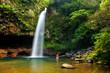 Lower Tavoro Waterfalls in Bouma National Heritage Park, Taveuni Island, Fiji