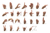 American Sign Langauge Alphabet - 141085370