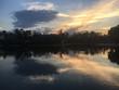 Atardecer en el Lago del Bosque de Chapultepec