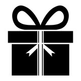 gift silhouette
