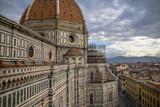 Florence, the famous dome of the Duomo, Santa Maria del Fiore