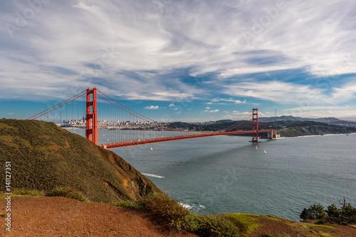 Fototapeta Golden Gate Bridge, San Francisco, Kalifornia
