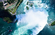 Aerial view of Niagara falls, Canada