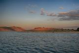 Carstic Croatian remote coast island on Adriatic Sea