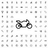 Fototapety Motorbike icon illustration