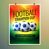 amazing football background for event flyer and invitation - 141148371
