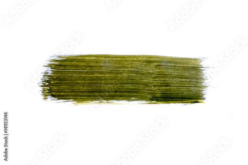 Fotobehang Vlinder Grüner Pinselstrich