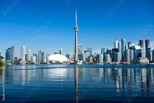 Toronto Skyline, Canada Poster