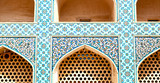 in iran the old decorative     tiles