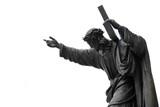 Fototapety jezus chrystus upada pod ciężarem krzyża